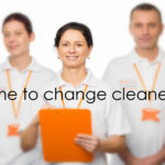 office cleaning team