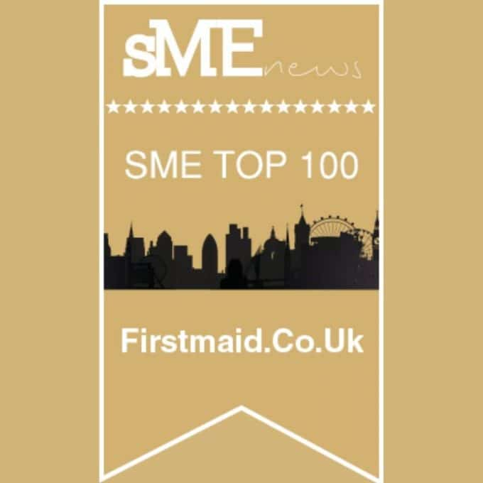 top 100 small business award badge