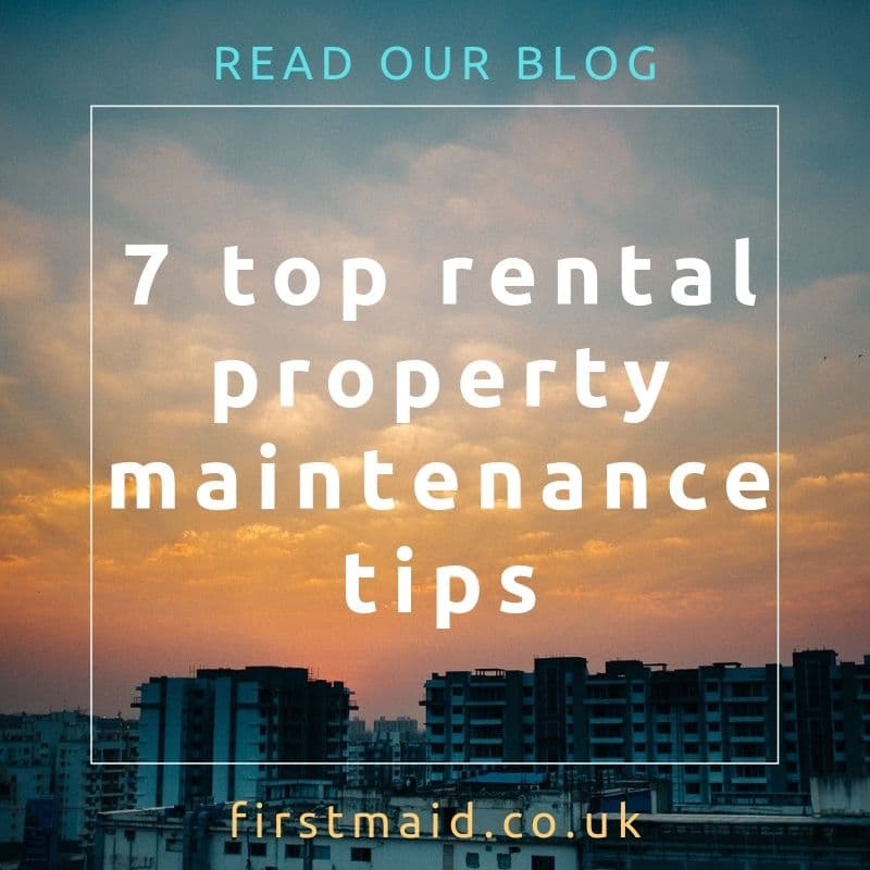 7 Top Rental Property Maintenance Tips - FirstMaid
