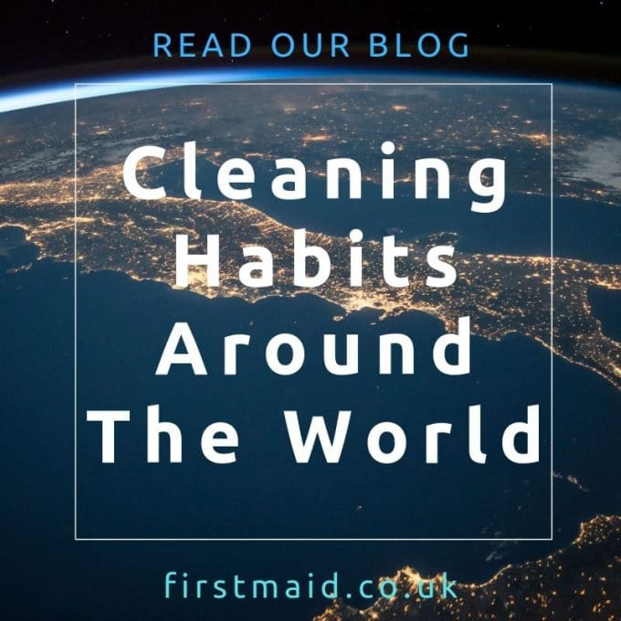 cleaning habits around the world