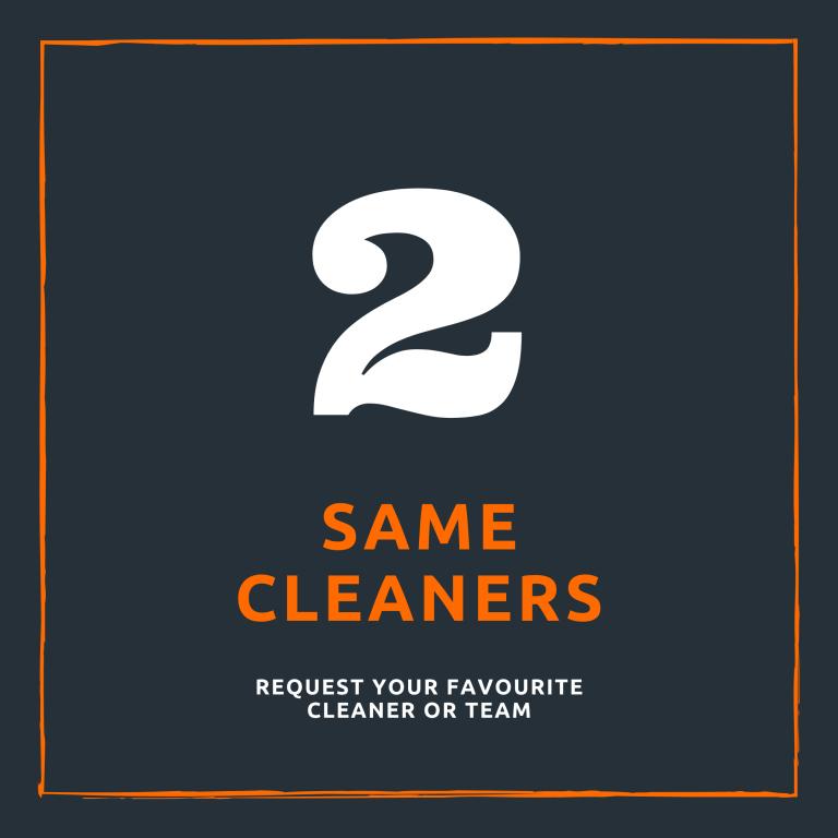 same cleaners